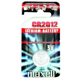 MAXELL Pile Bouton Lithium - CR2012 Standard