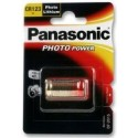 PANASONIC CR123 Power photo - CR123A - CR17345 - CR2/38L