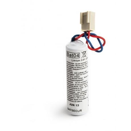 DAITEM Compatible Pile Batterie Alarme BATLI04 - 3,6V - 2,0Ah - Compatible DAITEM/LOGISTY