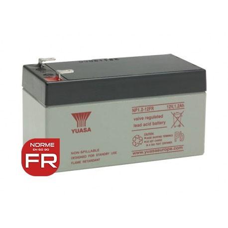 YUASA 12V - 1.2Ah - NP1.2-12FR - AGM